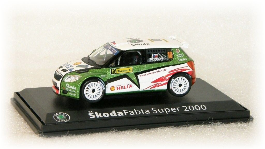 "Škoda Fabia S2000 - Barum Czech Rally No.10 ""2009"" Abrex"
