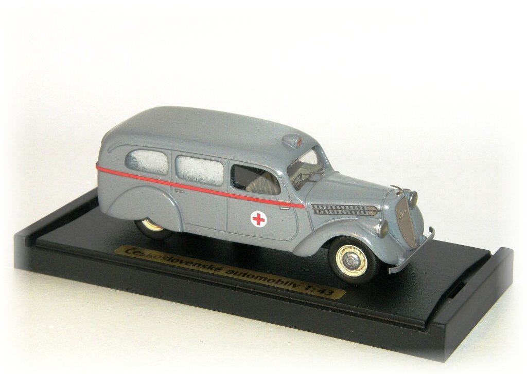 "ŠKODA POPULAR OHV - ambulance ""1937"" CVKP"