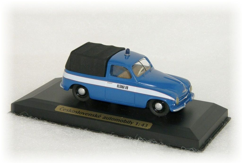 "ŠKODA 1201 - HLÍDKA VB pick-up ""1956"" CVKP"