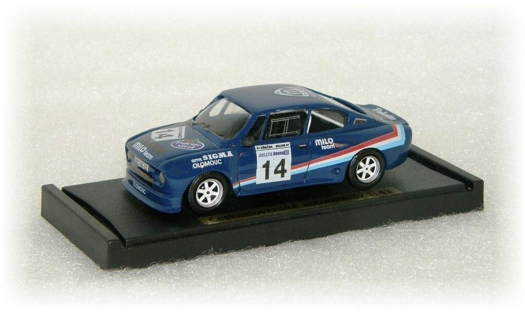 "ŠKODA 130 RS ""14"" rally ""1980"" CVKP"