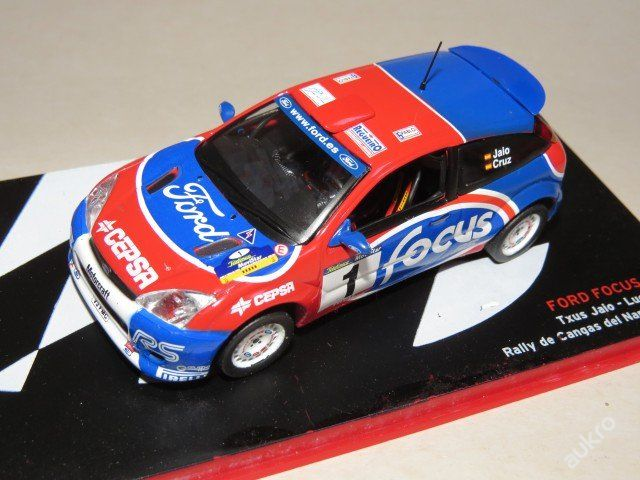 "Focus WRC Rally No.1 ""2002"" IXO"