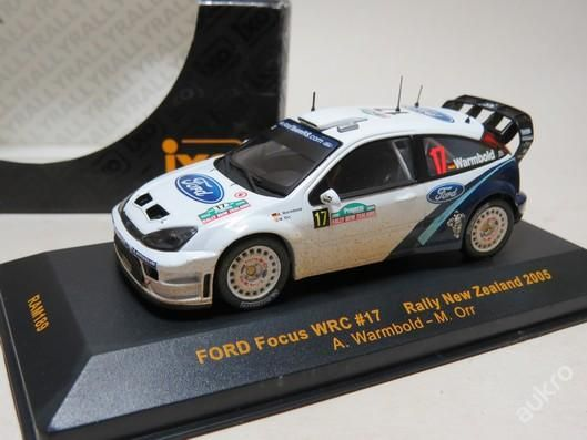 """Ford Focus WRC Rally New Zealand No.17 """"2005"""""""