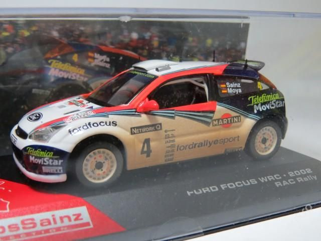 """Ford Focus WRC Rally No.4 """"2002"""""""