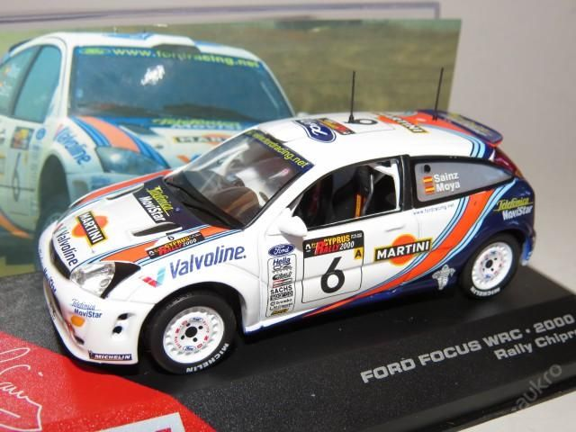 """Ford Focus WRC Rally No.6 """"2000"""""""