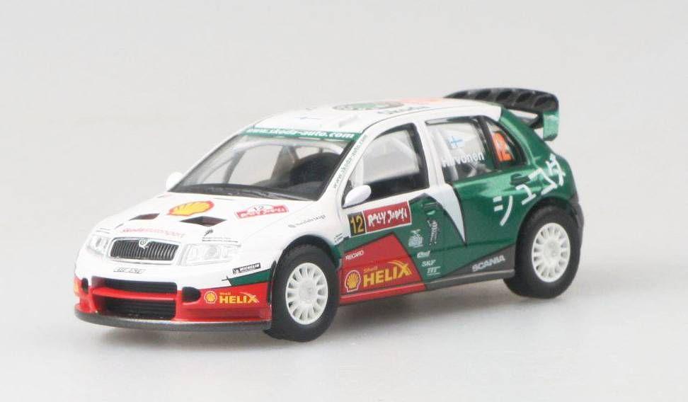 Škoda Fabia WRC EVO II Rally Japan No.12 Abrex