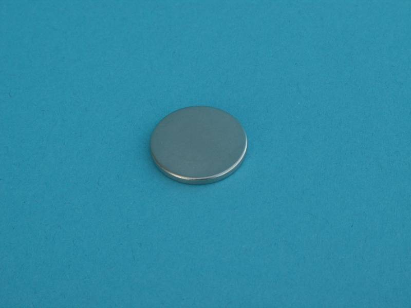 Magnet FeNdB-Ni D20x2mm