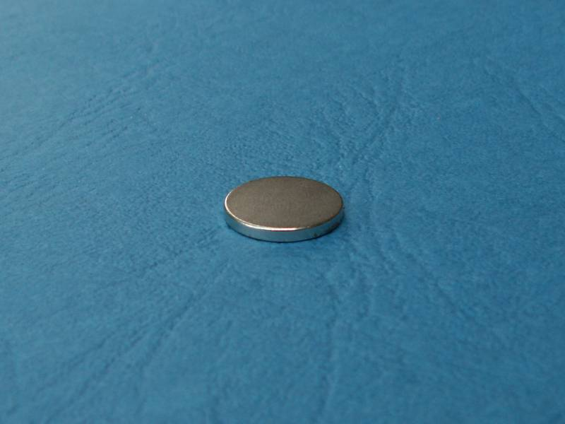 Magnet FeNdB-Ni12x1,5mm