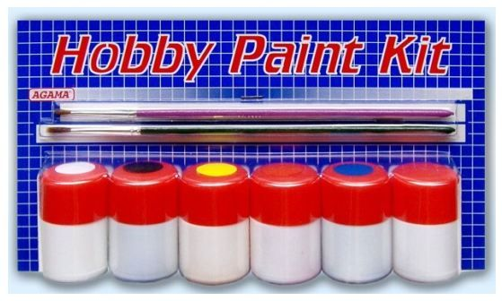 Hobby Paint Kit - Matná Agama
