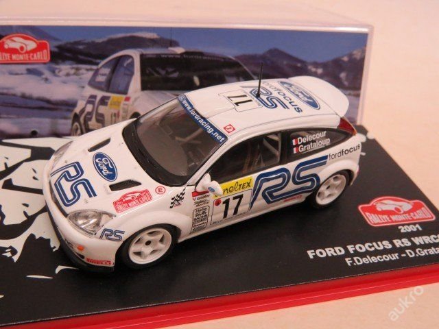 "Ford Focus RS WRC Rally No.17 ""2001"" IXO"